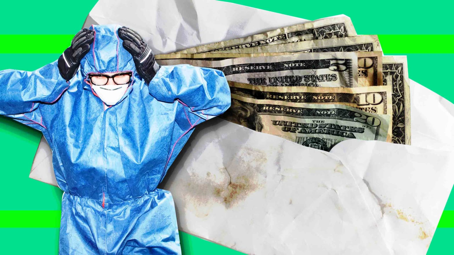 The DEA Is Worried Sick About Touching Contaminated Drug Money