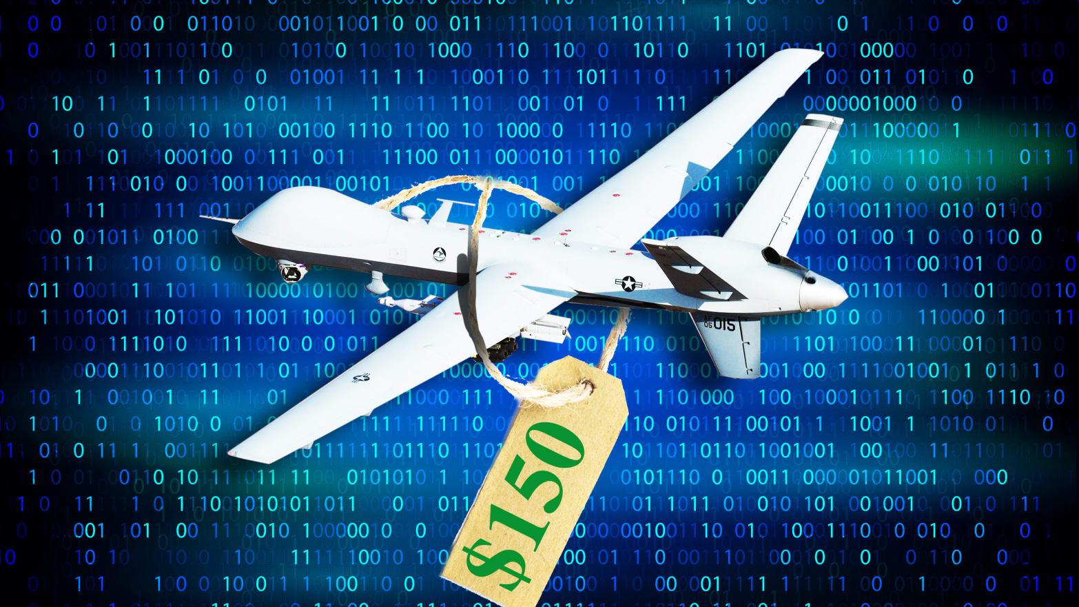 Hacker Selling Pentagon's Killer Drone Manual on Dark Web for $150