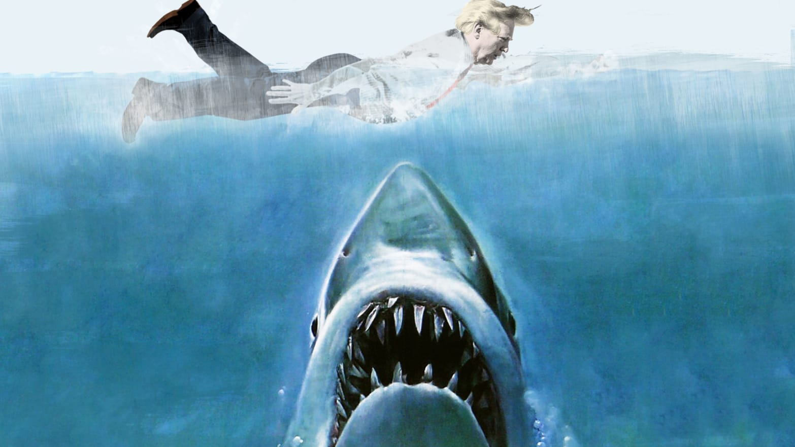 Inside Donald Trump S Deathly Fear Of Sharks I Hope All The Sharks Die