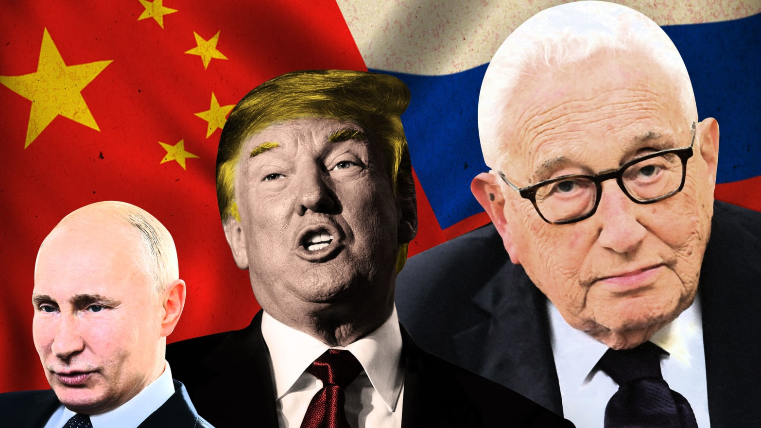 Henry Kissinger Pushed Trump to Work With Russia to Box In China