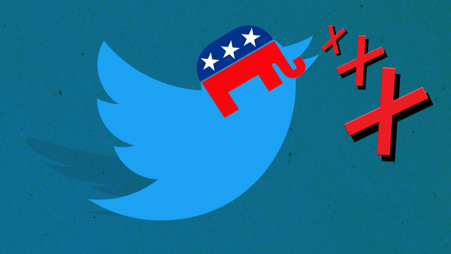 Why a Red 'X' Is the New Symbol of Conservative Twitter