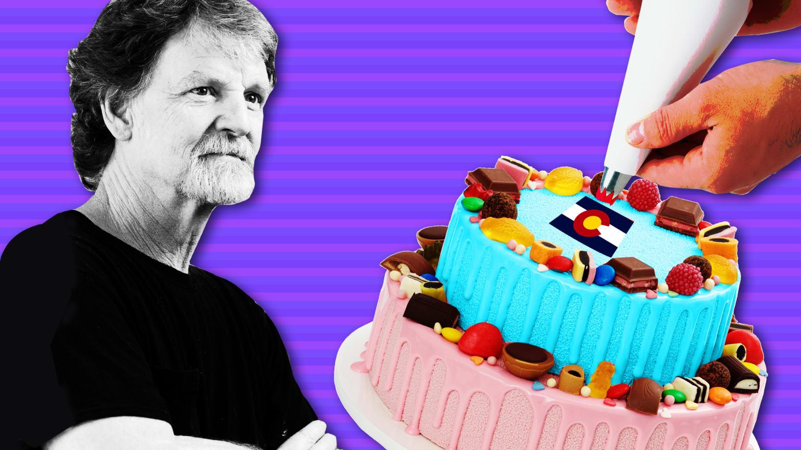 The Masterpiece Baker Is Back Now He Wont Make A Trans Themed Cake