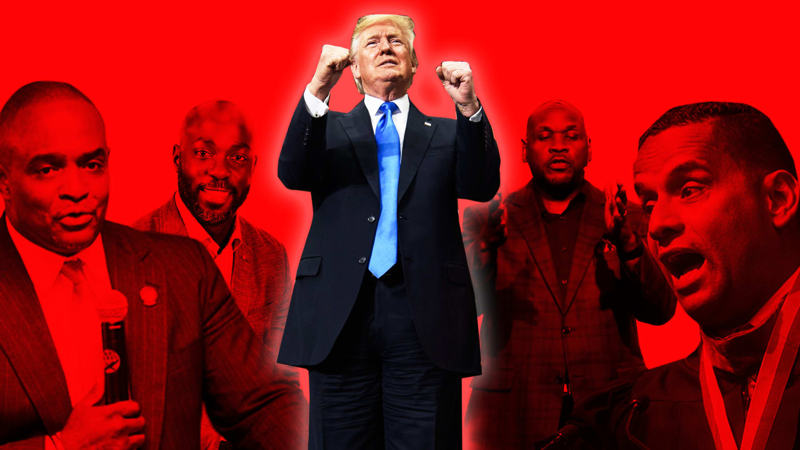 These African American Pastors Who Sucked Up to Donald Trump