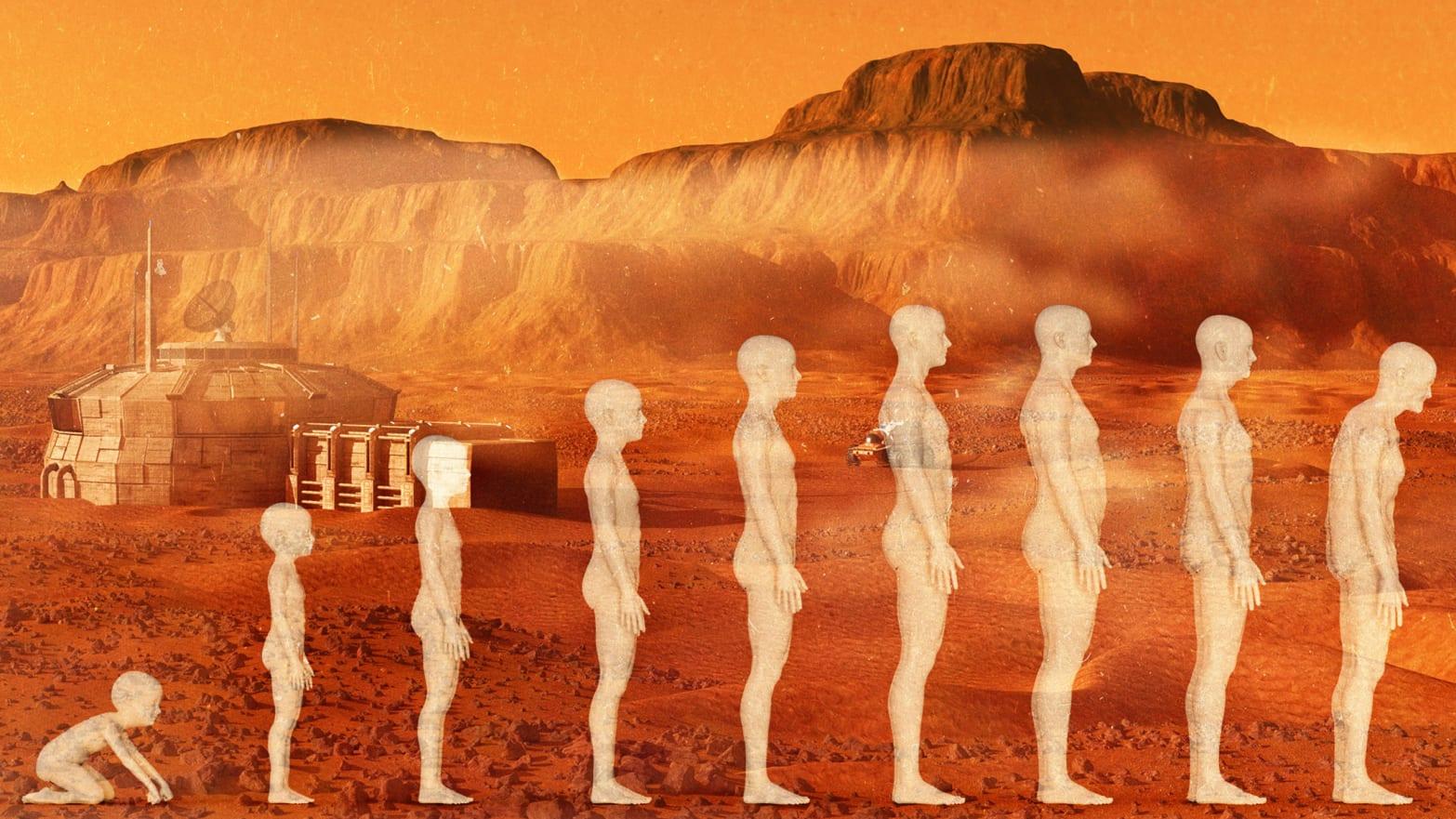 mars evolution evolve gorilla curiosity rover gale crater red planet martian