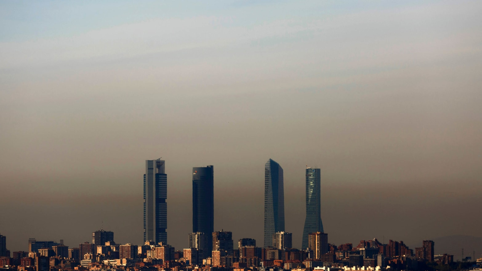 madrid pollution map get home google skyscraper skyline polluted climate change