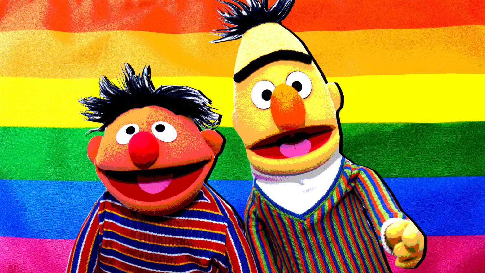 Inside Bert And Ernie S All Too Brief Moment Of Gay Liberation