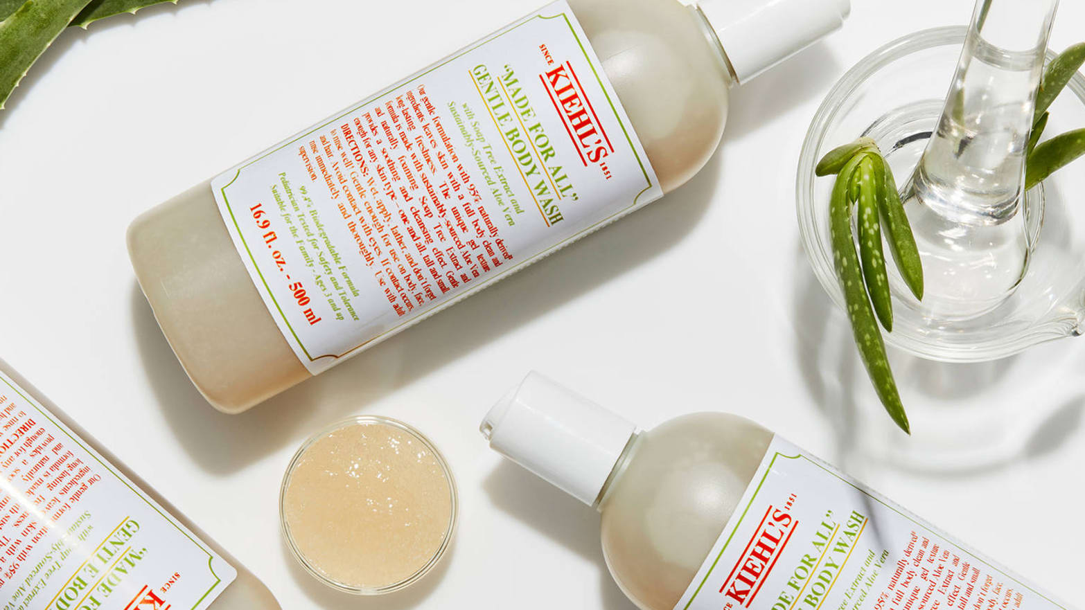 Afbeeldingsresultaat voor Made for All Gentle Body Wash van Kiehl's
