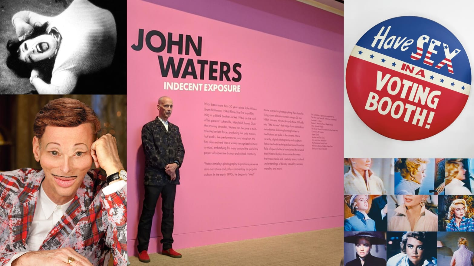 John Waters Takes Us on a Funny, Filthy Tour of His Fine Art