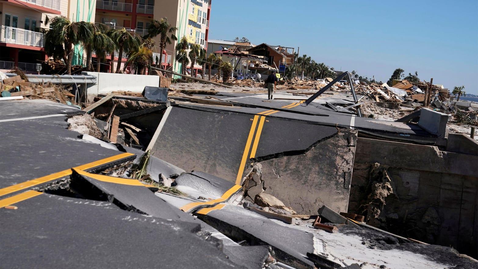 Inside Mexico Beach, Hurricane Michael's Ground Zero, Even