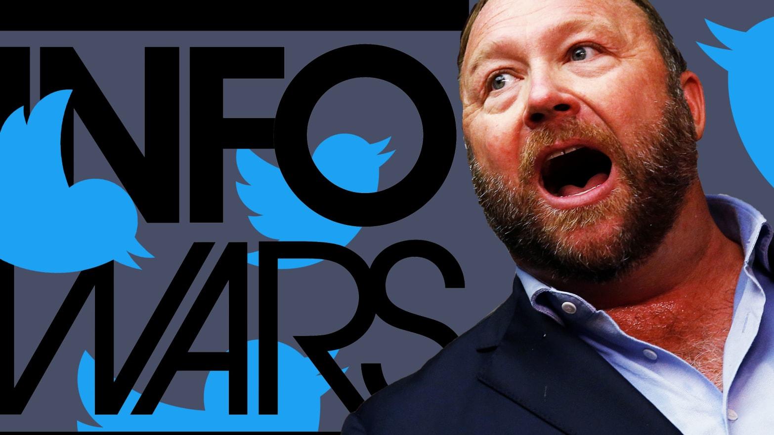 Alex Jones and InfoWars Are Still on Twitter, Despite 'Ban'