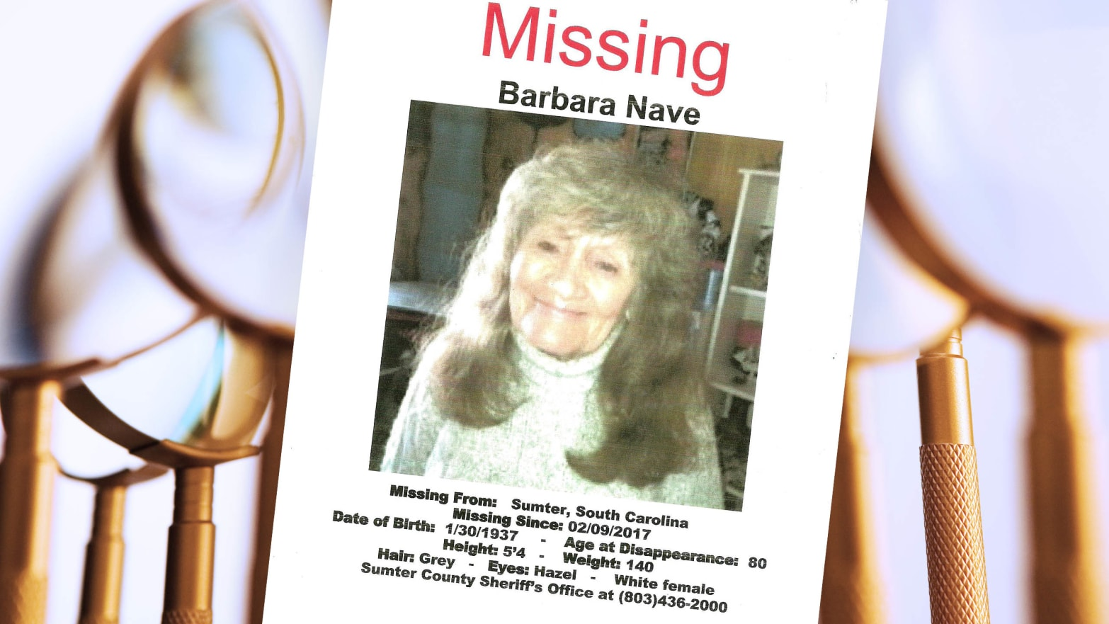 Barbara Nave Vanished Two Years Ago  This Golden-Ager Detective Club