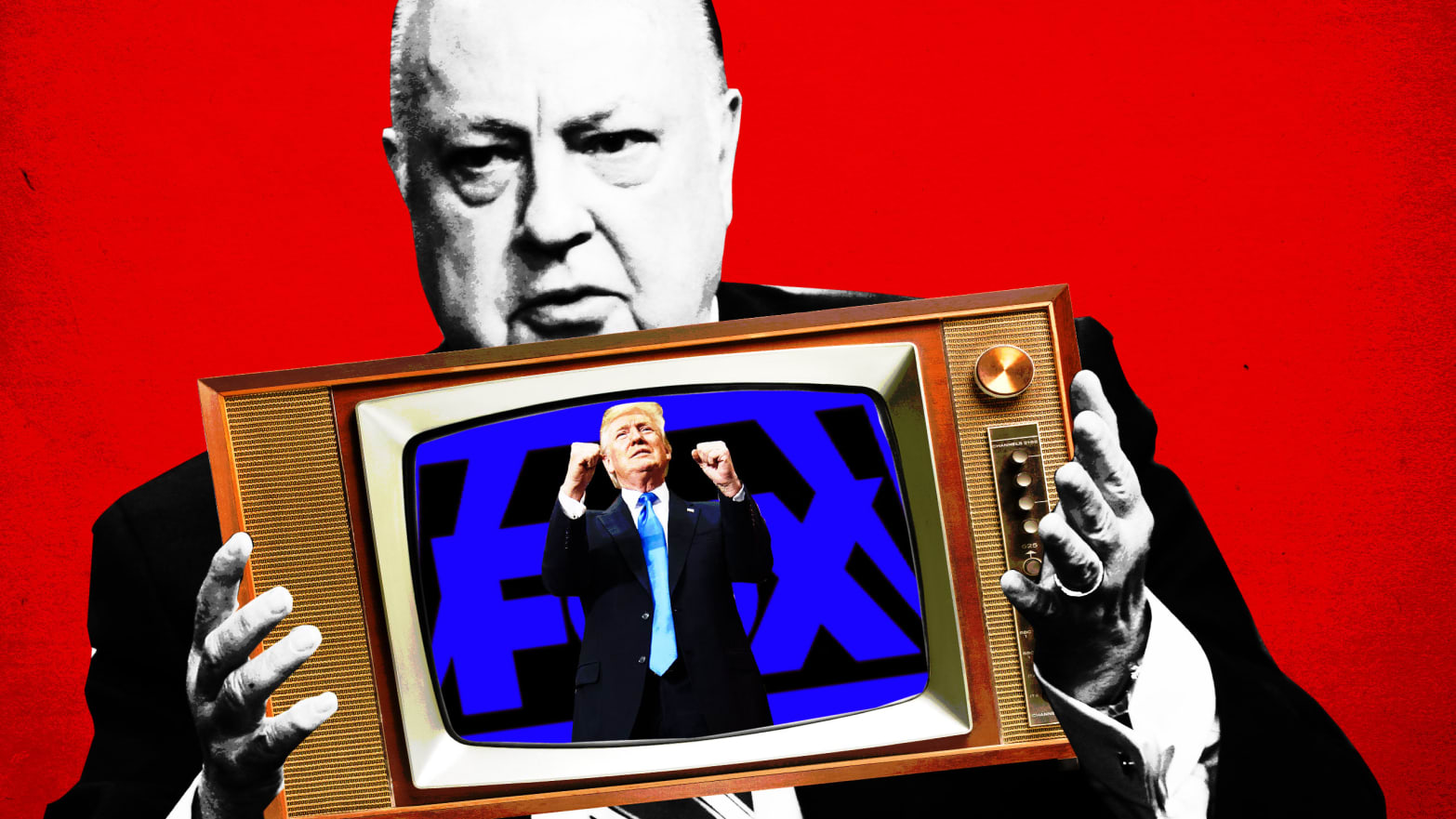 Hunting Fox News, Propaganda Publications and Media Manipulations - cover