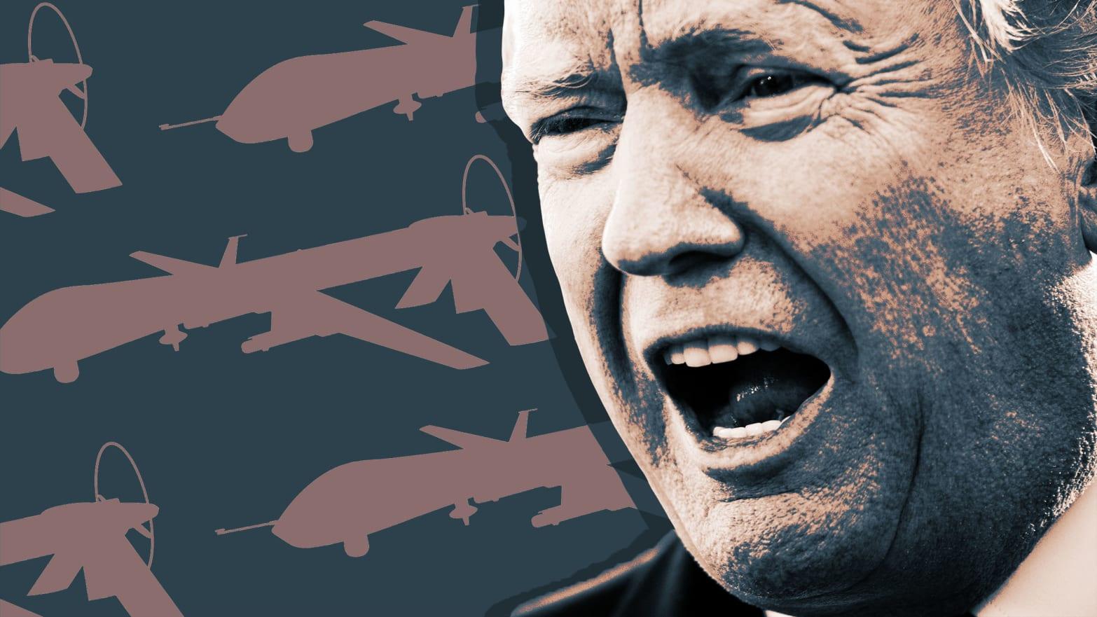 Trump Ramped Up Drone Strikes in America's Shadow Wars