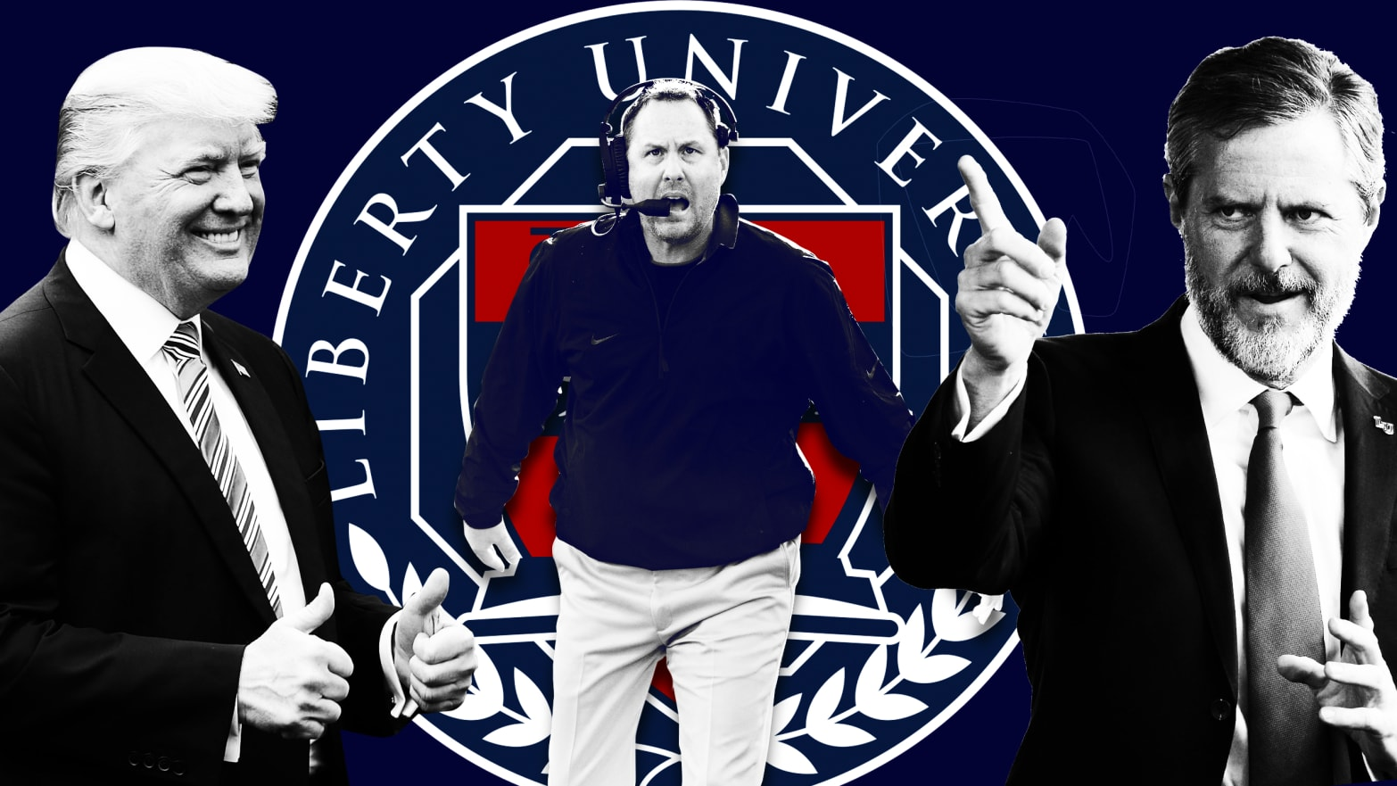 Holy Hypocrisy Hugh Freeze Liberty Universitys New Football Coach