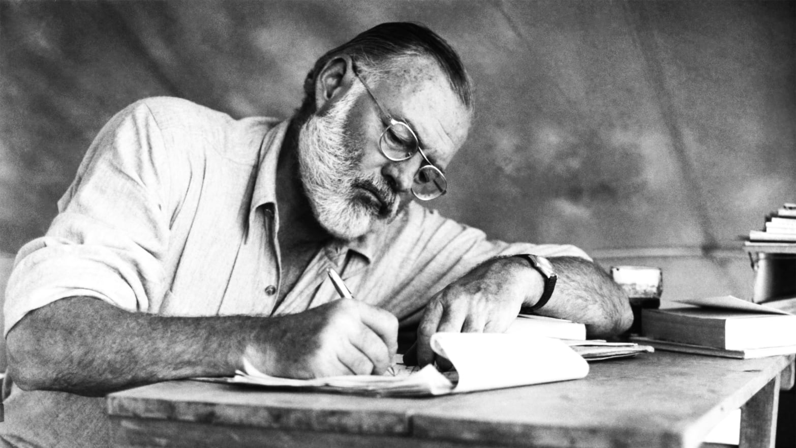 Andrea Bogart Age why the hell are we still reading ernest hemingway?