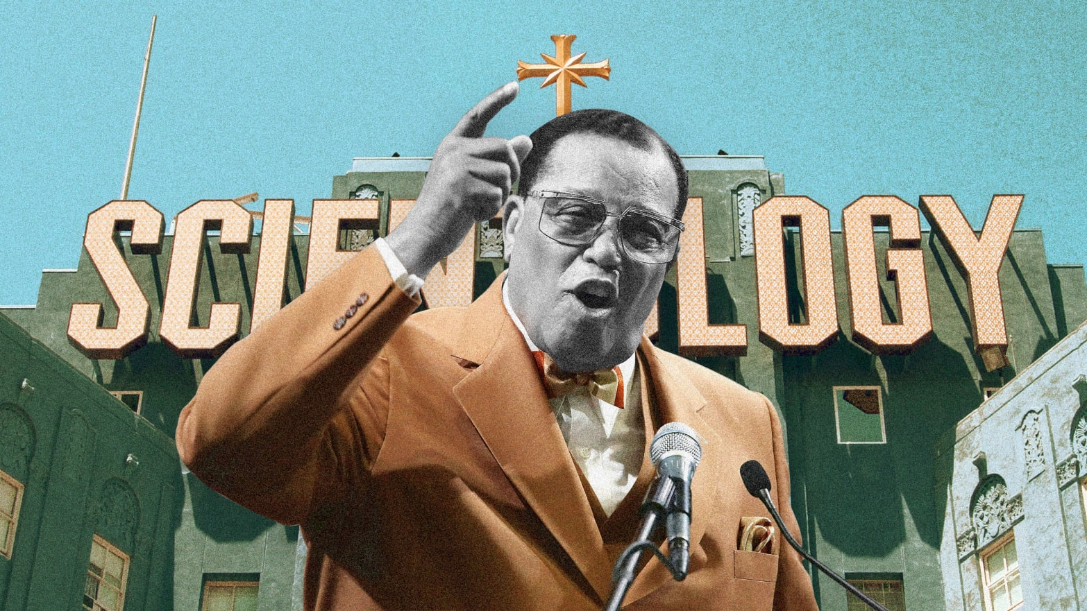 Inside Farrakhan and the Nation of Islam's Strange Ties to Scientology