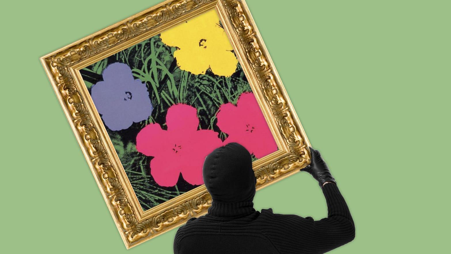 colori delicati lusso imballaggio forte This Andy Warhol Artwork Was Stolen, and Never Seen Again