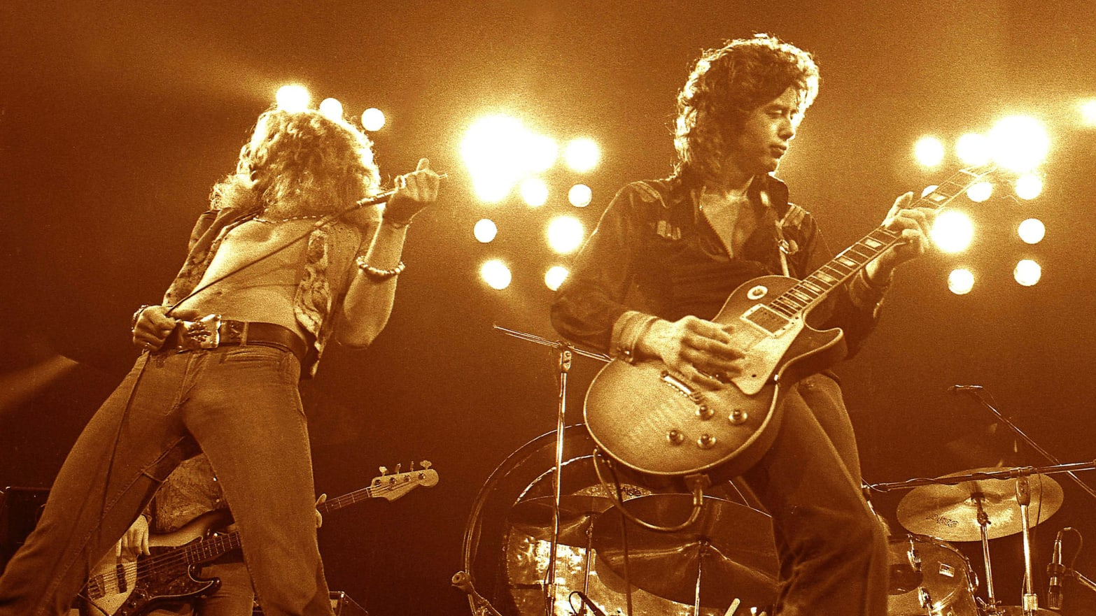 Led Zeppelin's Controversial Legacy: Thievery, Underage Groupies and the 'Mud-Shark Incident'