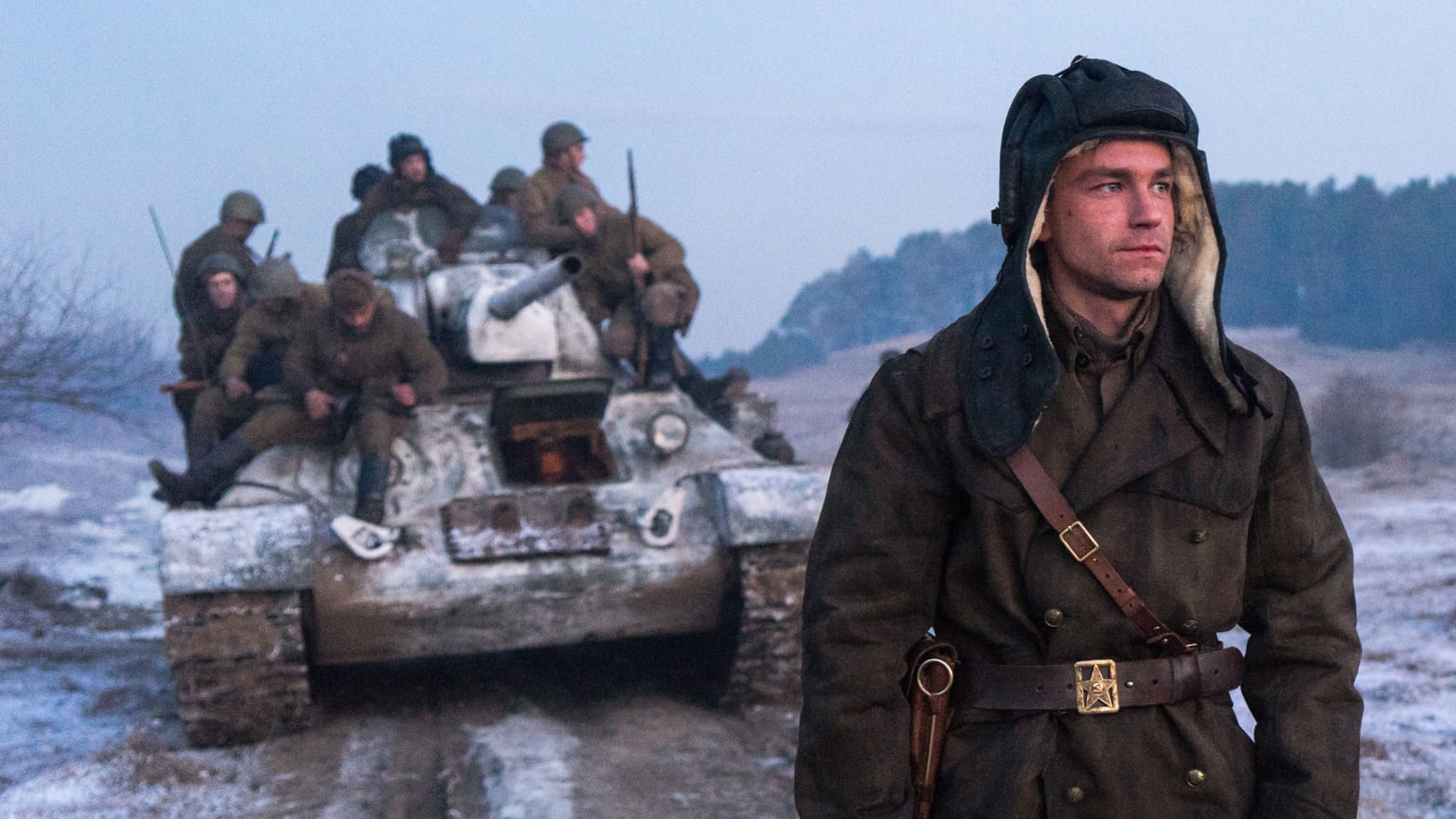 Tank Battle Scene 1 – from the Movie T34
