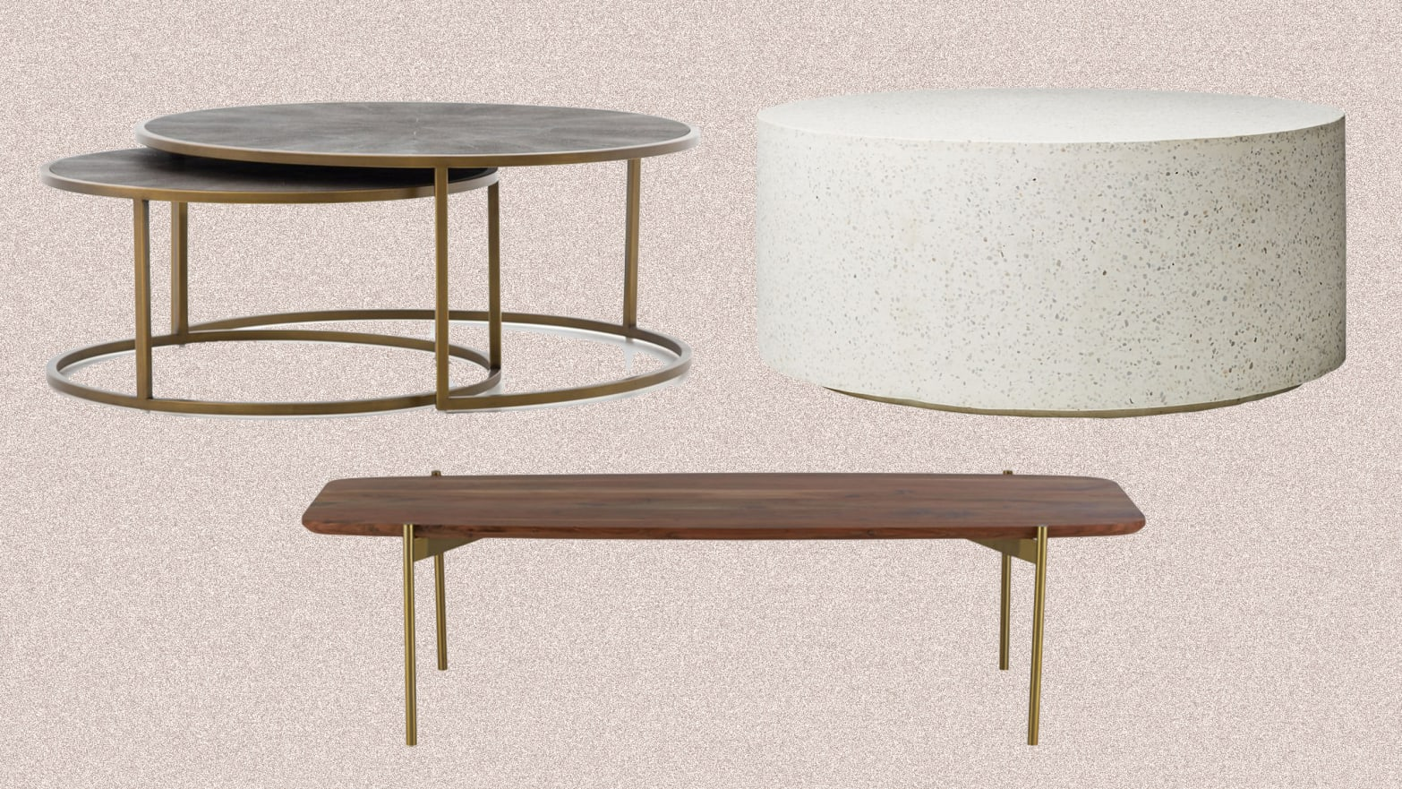 Round Rectangle And Other Coffee Tables That Work Best For Your Size Couch