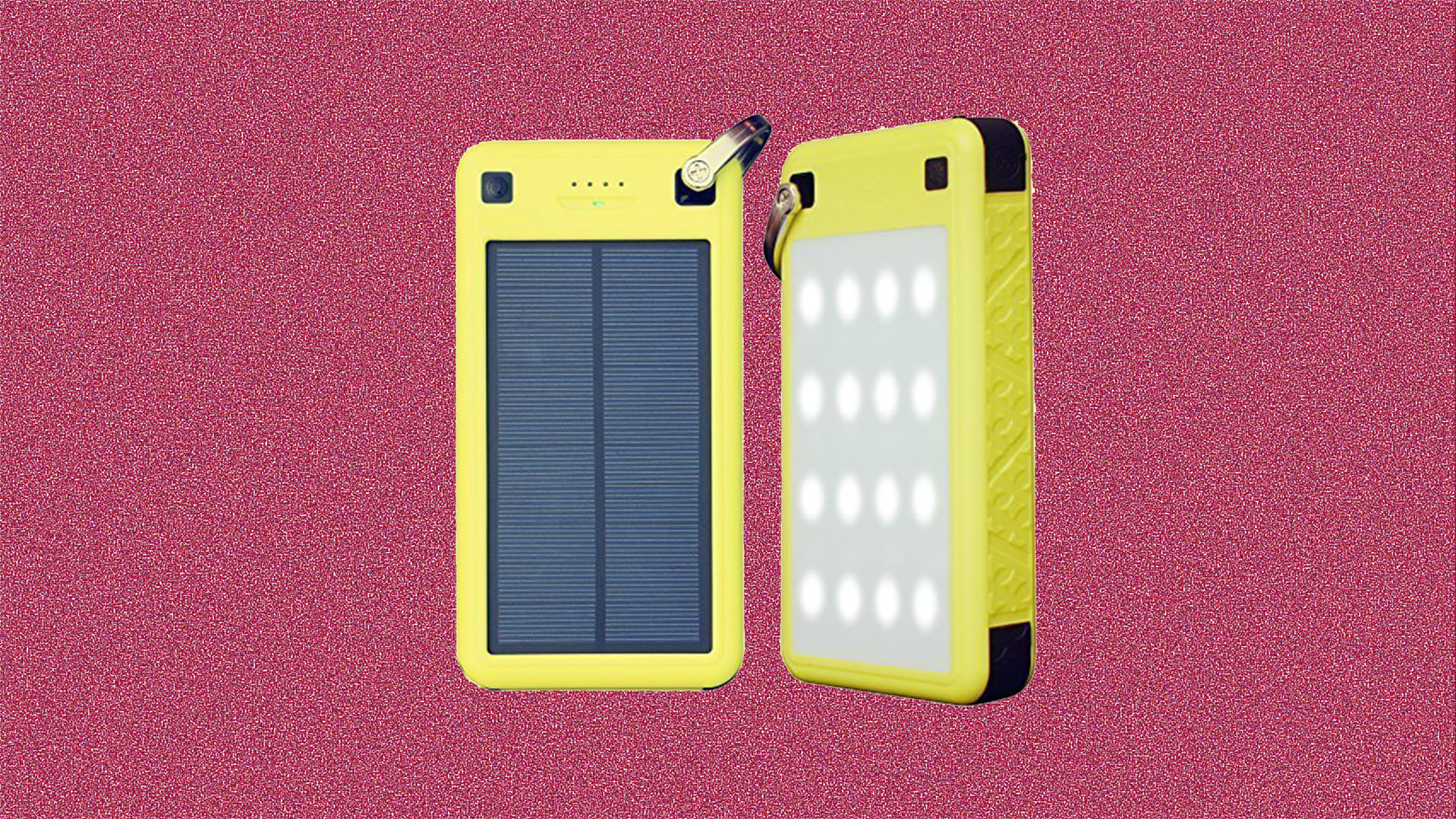 This Solar-Powered Portable Charger Is Waterproof, Shockproof, and $50