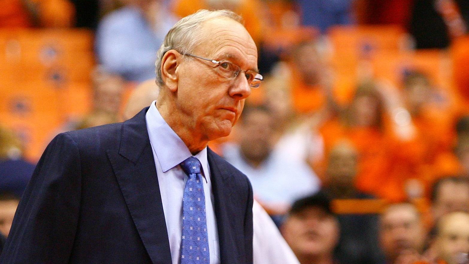 Jim Boeheim Syracuse Basketball Coach Kills Pedestrian In Crash
