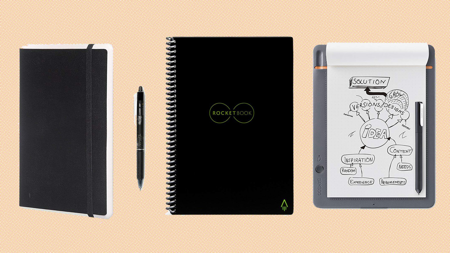 Wacom, Rocketbook, Moleskin, and More Of The Best Smart Notebooks For Every Need