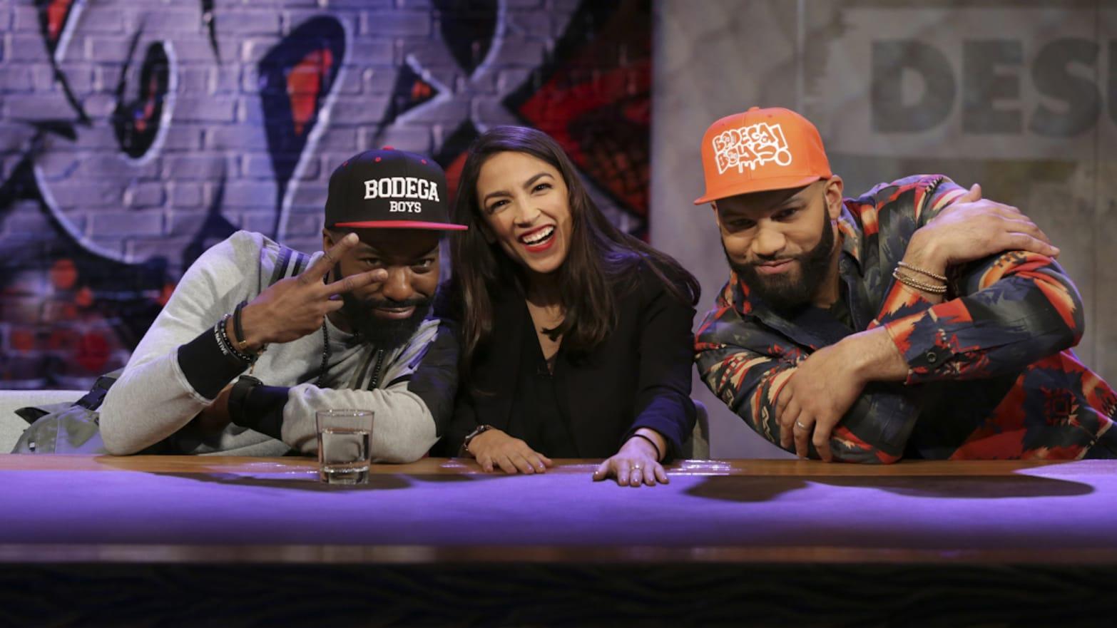 Alexandria Ocasio-Cortez on 'Desus & Mero': 'Isn't $10 Million Enough?'