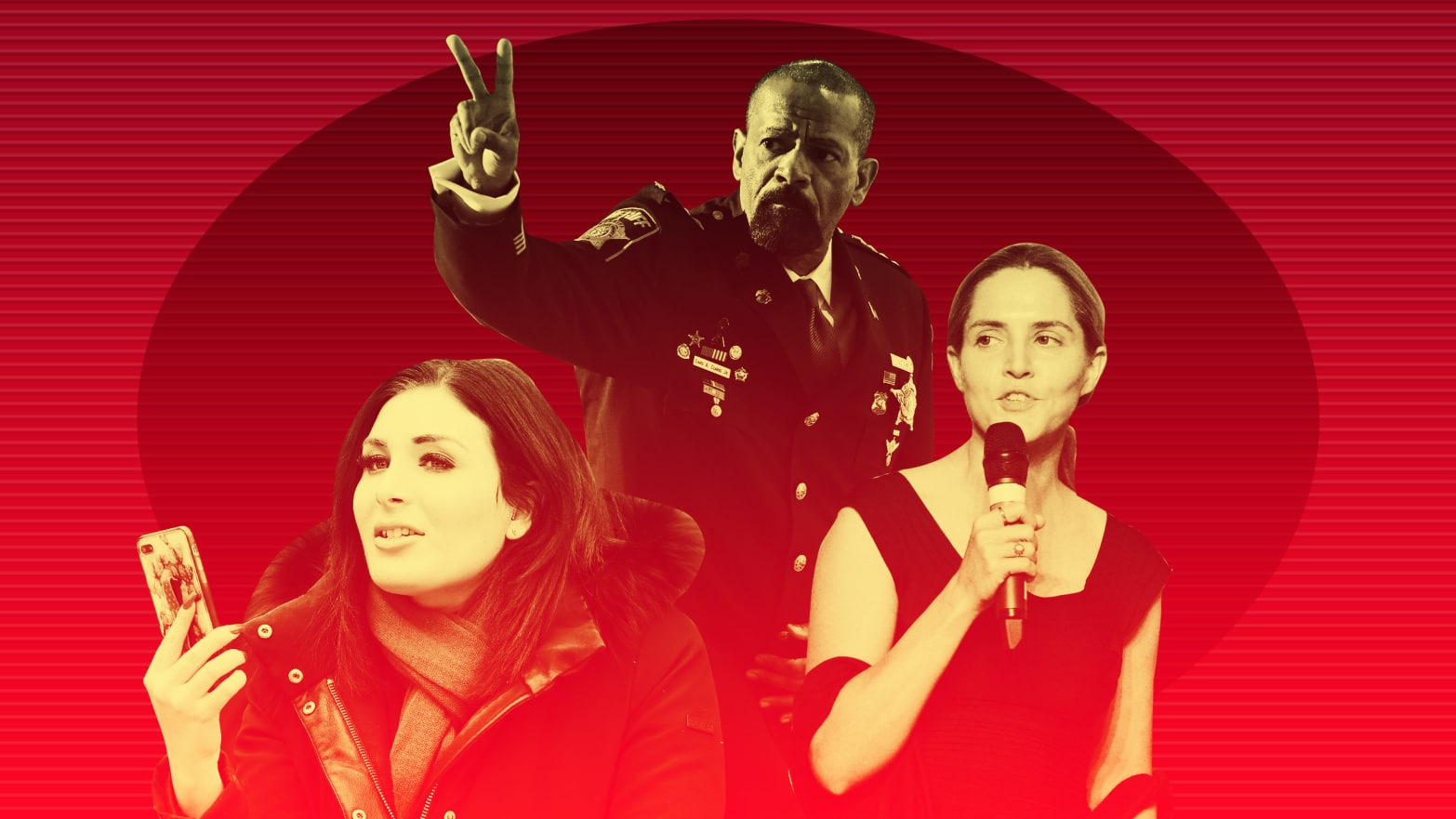 The Grifters Are Coming: Laura Loomer, Louise Mensch, Sheriff David Clarke All Shopping New Books