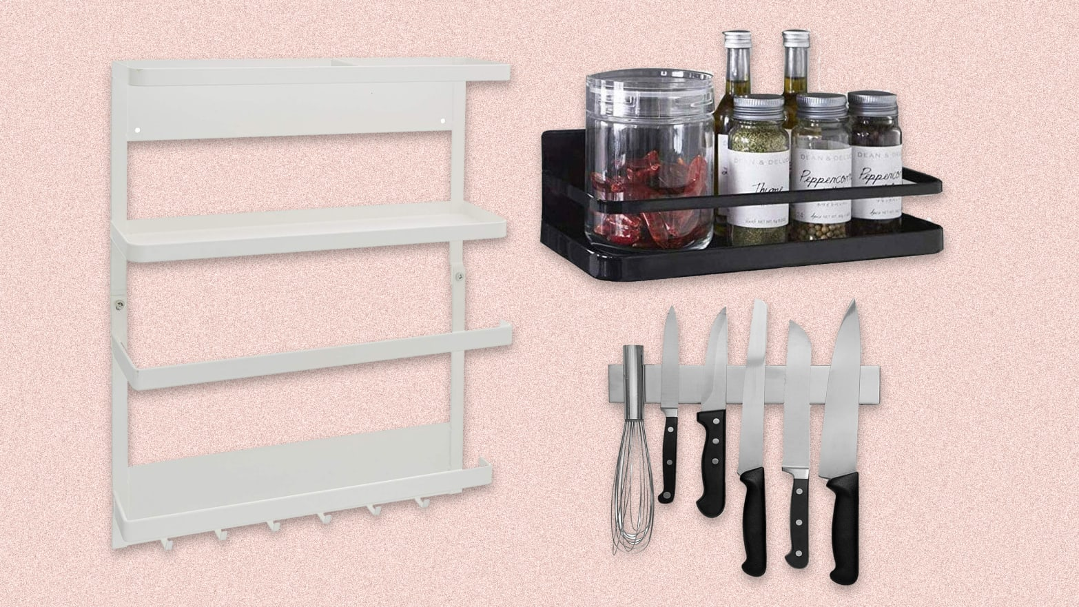 Magnetic Storage for Kitchen