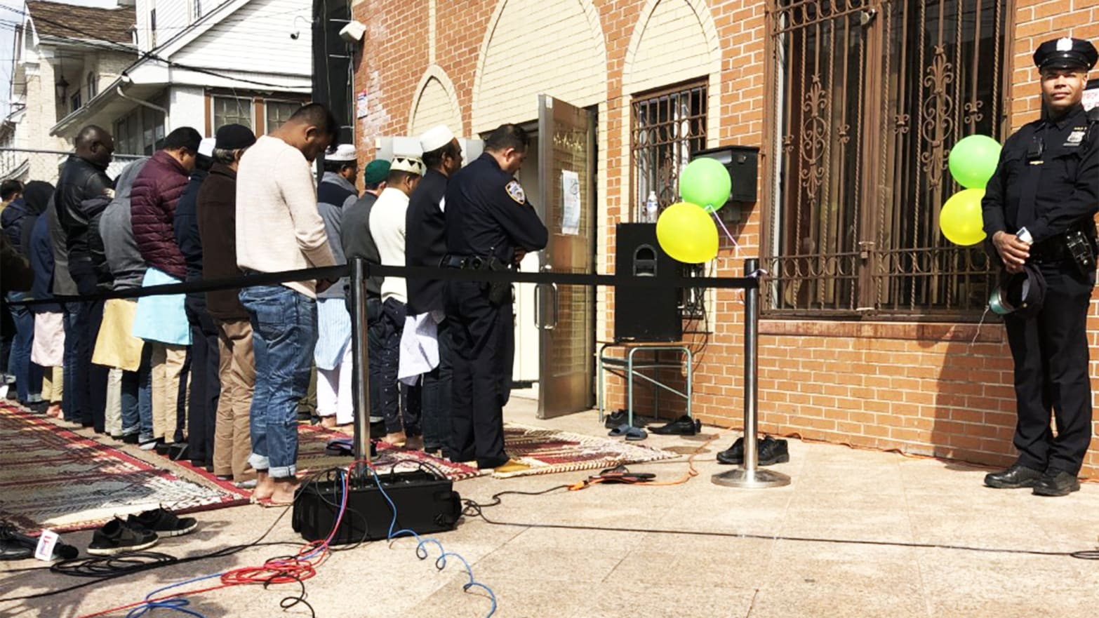 Nz Massacre: A Day After New Zealand Mosque Massacre, NYPD Watches As