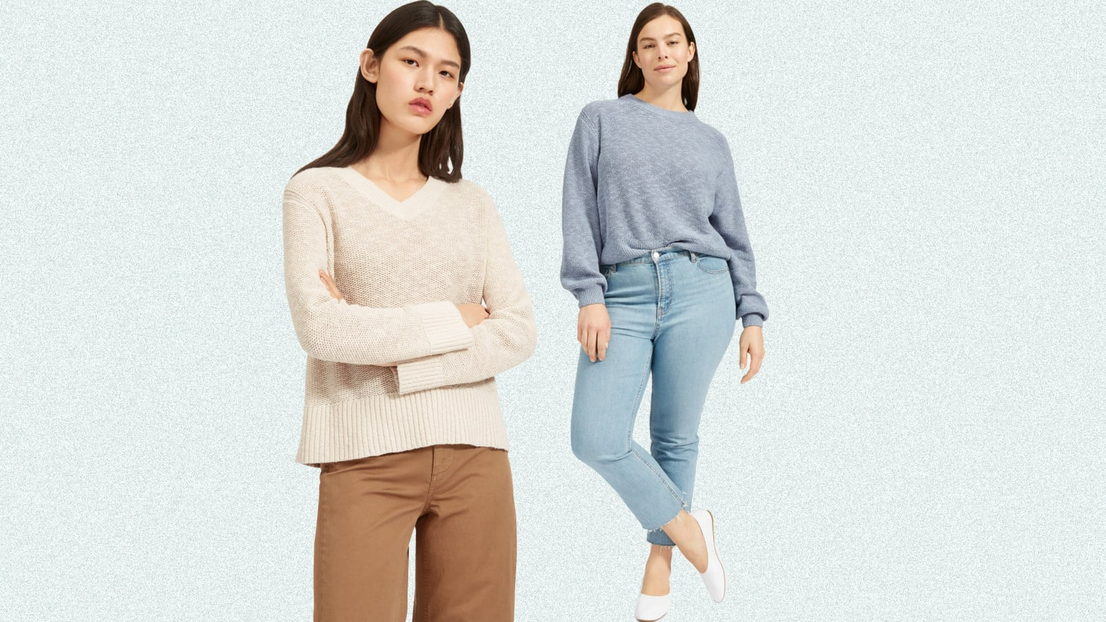 Cotton Sweaters from LLBean Everlane Bonobos