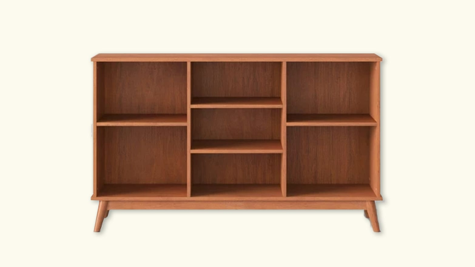The Mid-Century Modern Bookcase from Target That Revitalized My Living Room