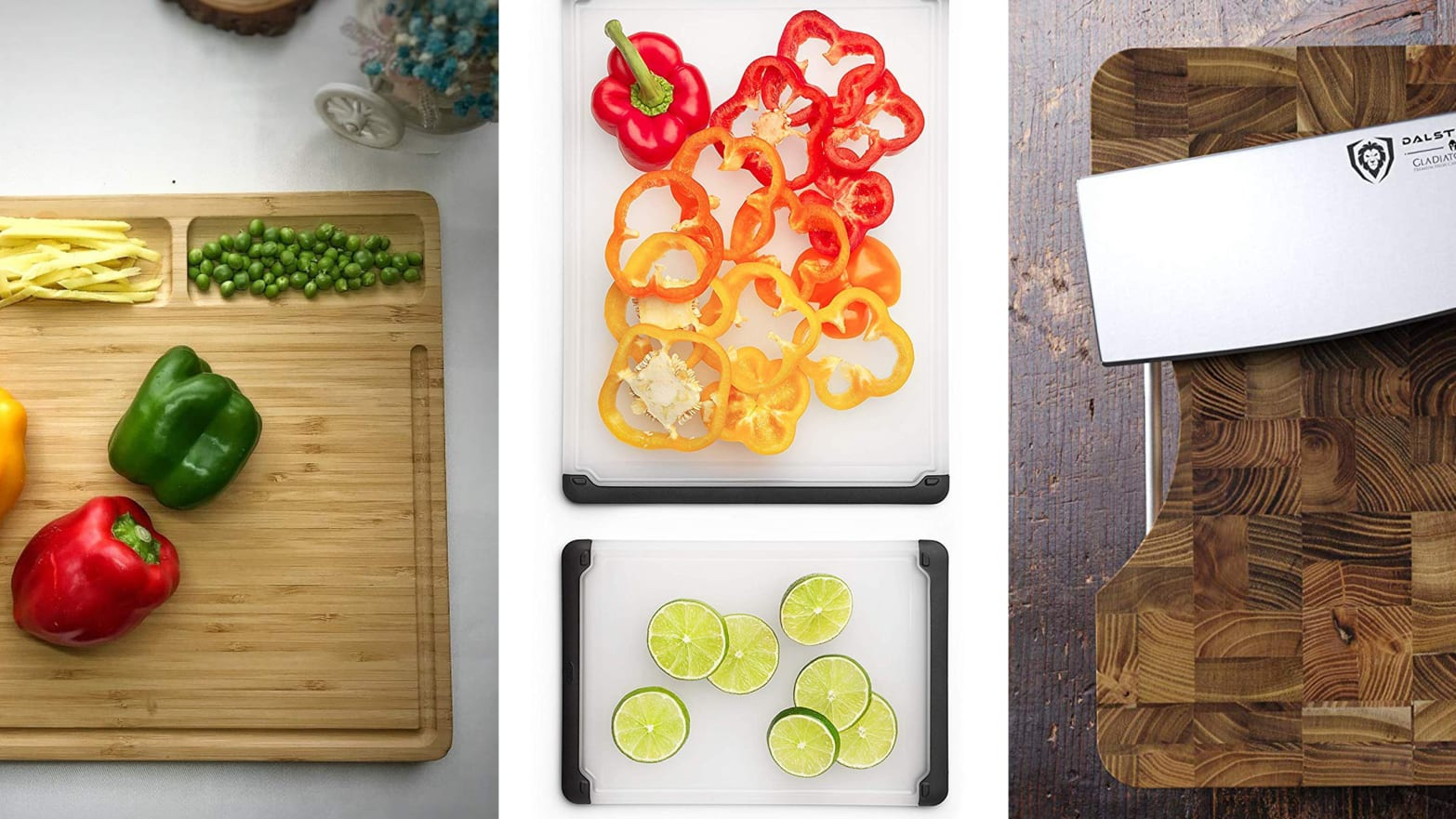 Cutting Boards Come In Plastic, Bamboo, And Wood