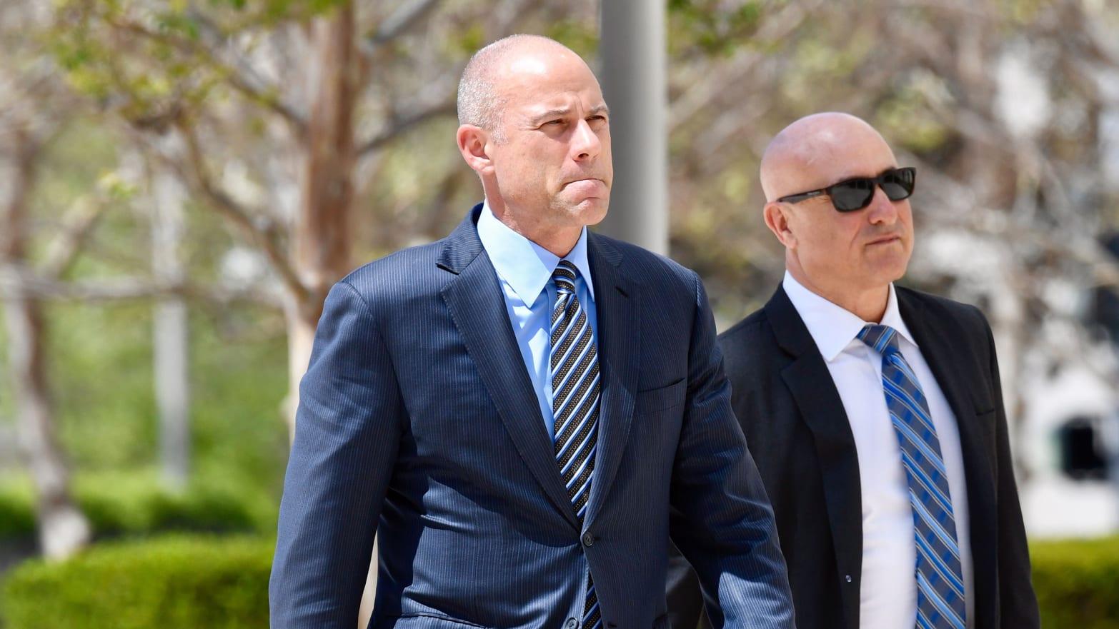 Michael Avenatti: Heckled at California Federal Court Arraignment as 'Creepy Porn Lawyer'