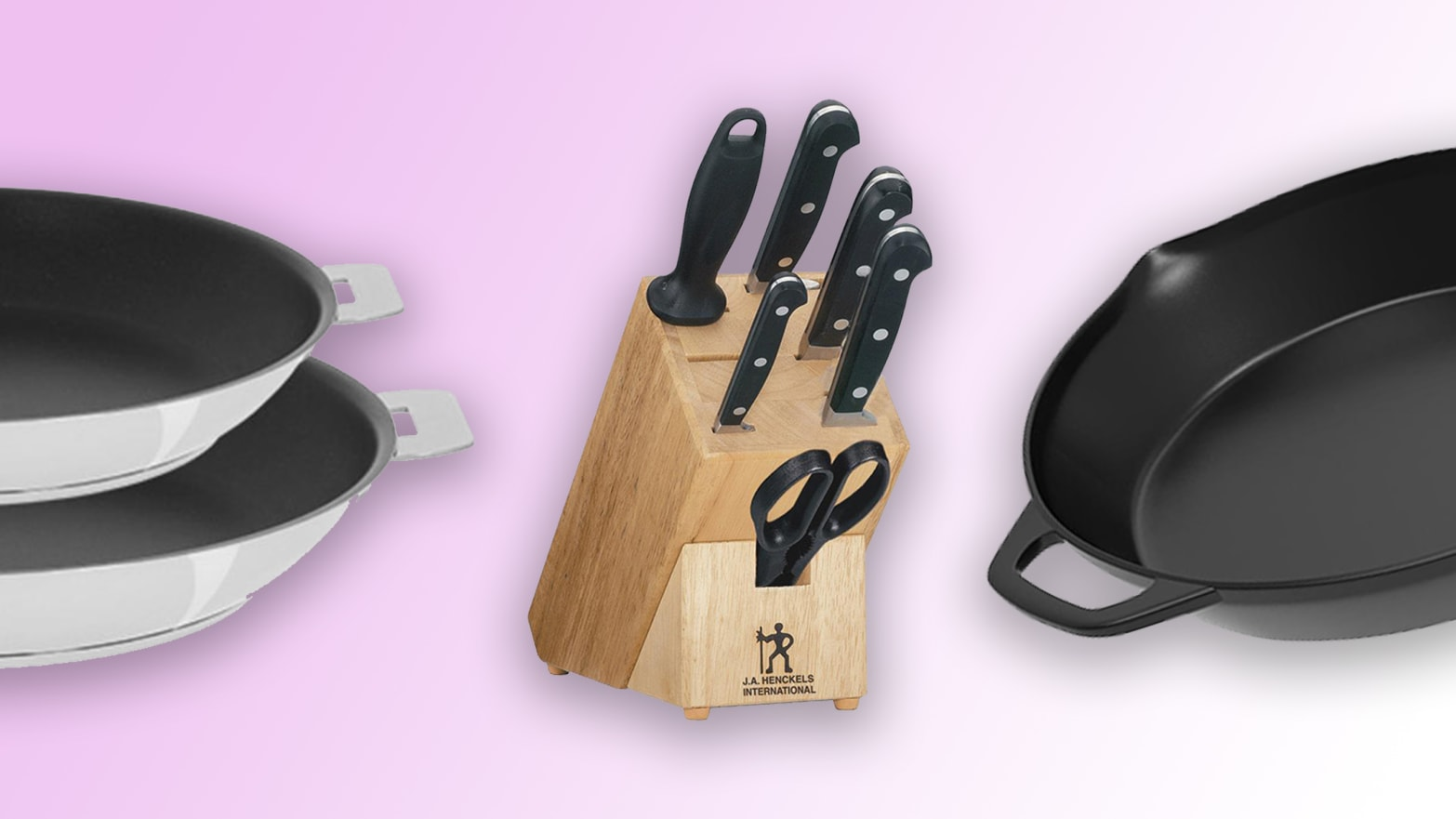 Home Depot Sale: KitchenAid, J.A. Henckels, and Cristel Cookware and Cutlery Up to 40% Off