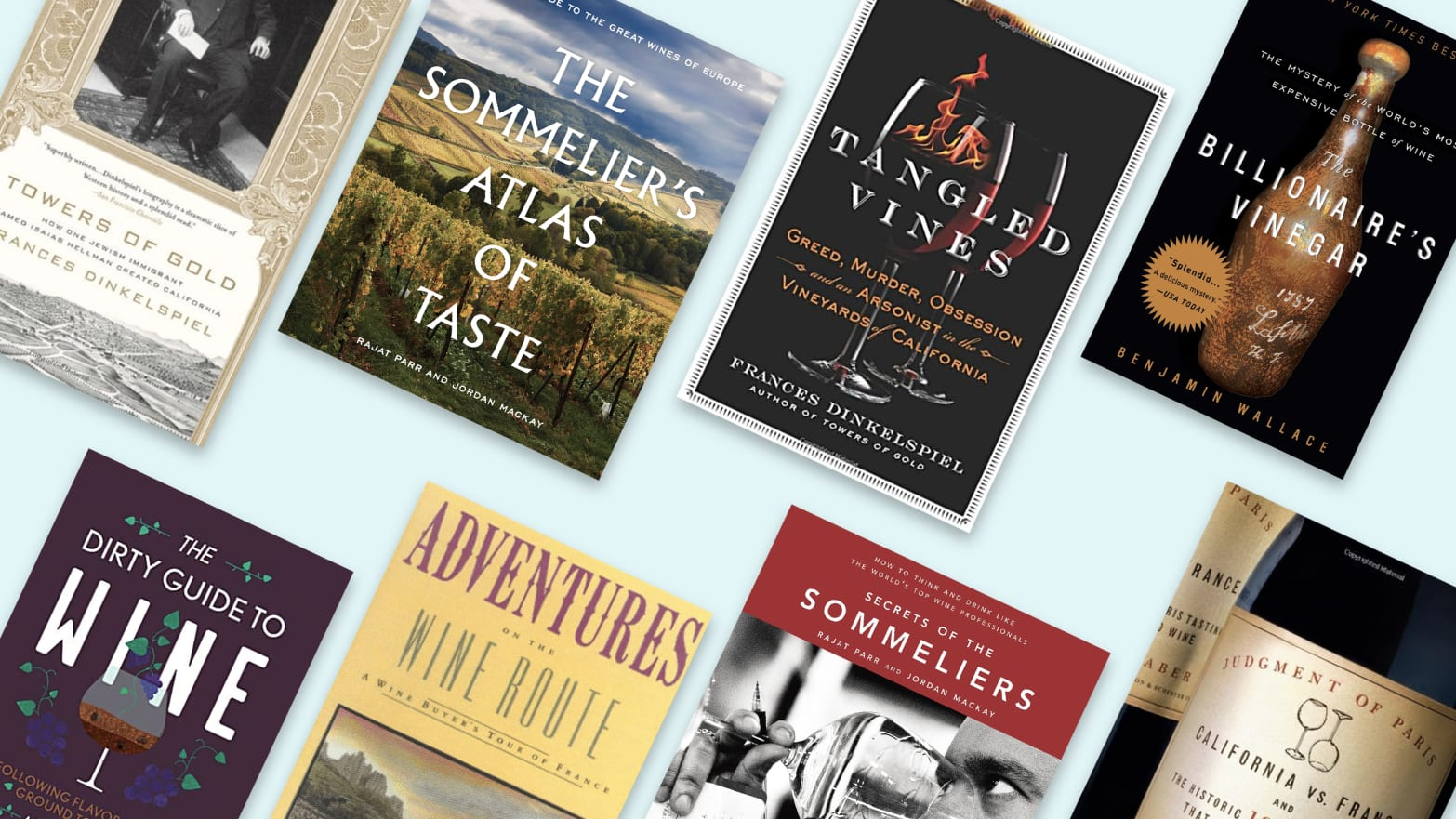 The Top Books About Wine