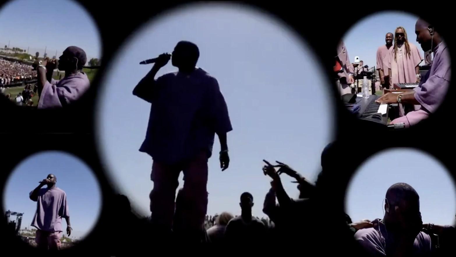 Inside Kanye West's Coachella Sunday Service: A Big, Mesmerizing, 'Religious' Grift