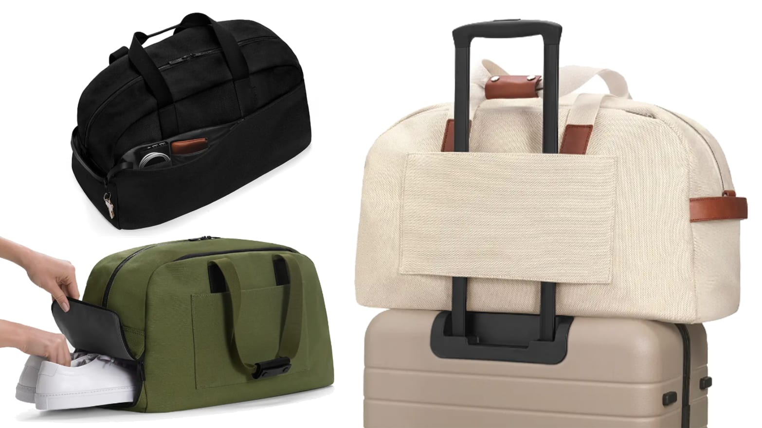 50a538afa The Away Weekender Is a Brilliant Carry-On Companion to Those of Us that  Can't Fit Everything in a Suitcase