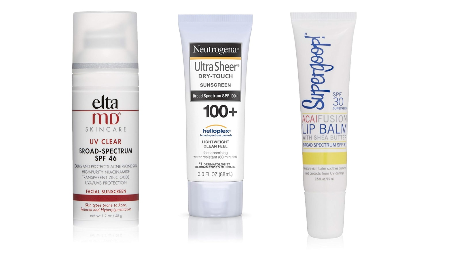 The Best Sunscreen For Your Face, Body, and Lips