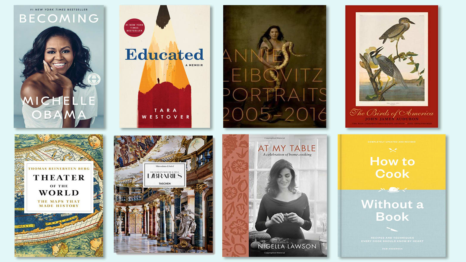 A Mother's Day Book Gift Guide with Memoirs, Cookbooks, Coffee Table Books, and More