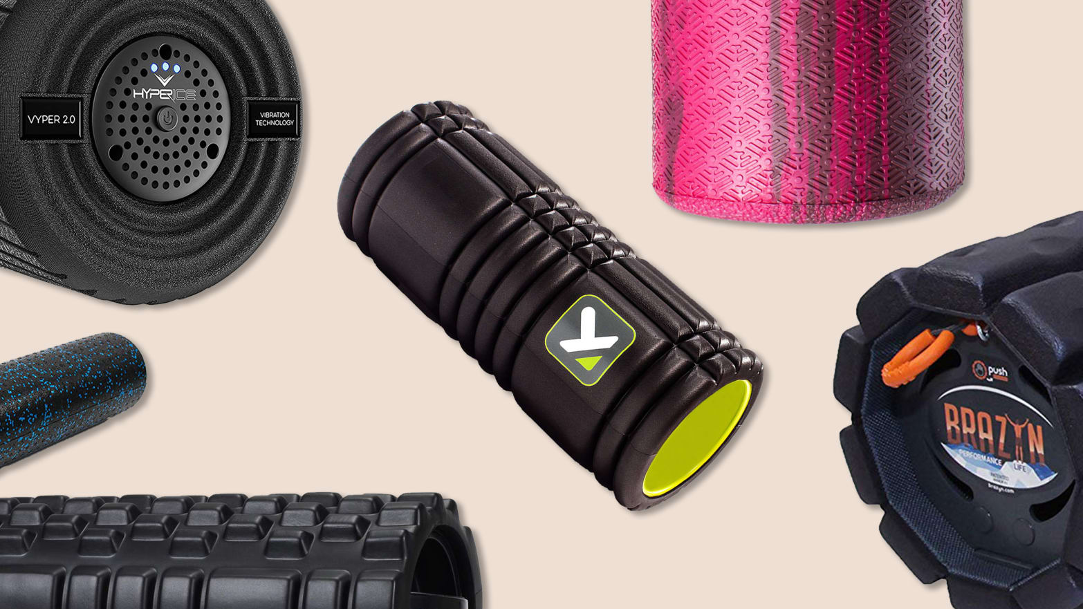 Meet The 6 Best Selling And Top Rated Foam Rollers Out There