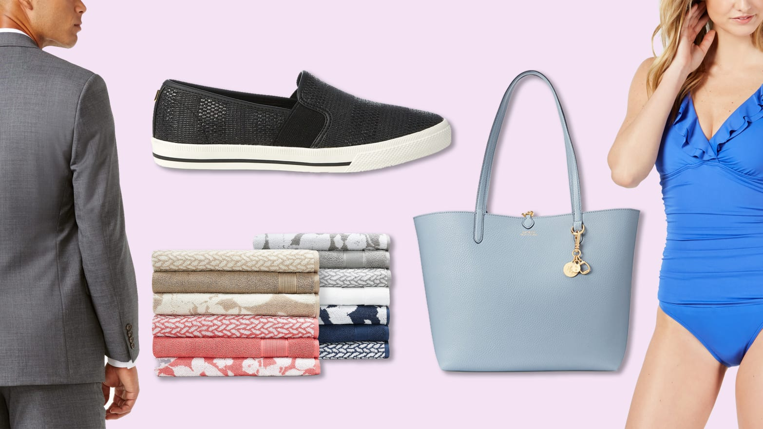 49d2348657 Save 25% on Ralph Lauren Bags, Sneakers, Suits, Bathing Suits, And More  During This Macy's Sale