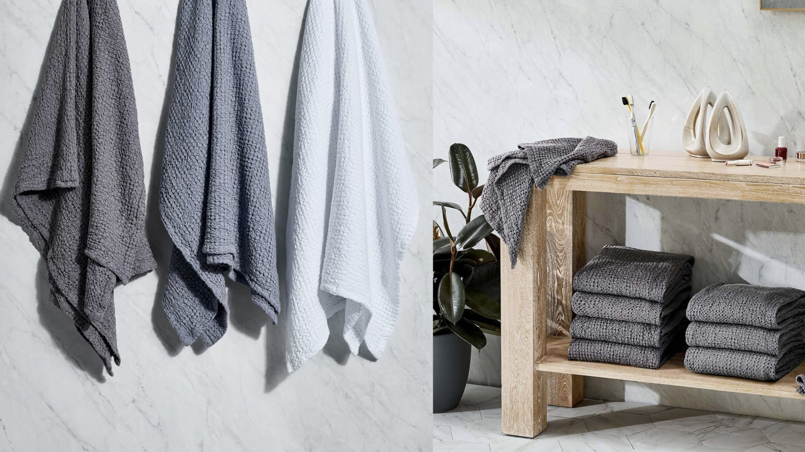 This Cotton Bath Towel from Snowe Will Dry You Faster