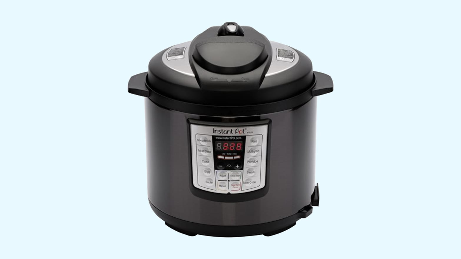 Shop the InstantPot LUX60 In Black Stainless Steel