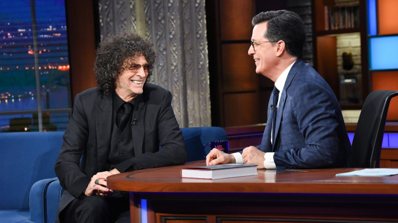 Howard Stern Dishes to Colbert on Trump's Attraction to His Daughter Ivanka: 'He Was Wild'
