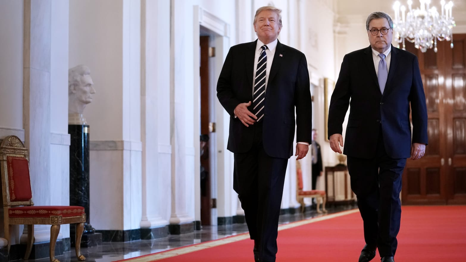 Trump Gives Attorney General William Barr Authority to Declassify Documents in Russia Investigation Probe
