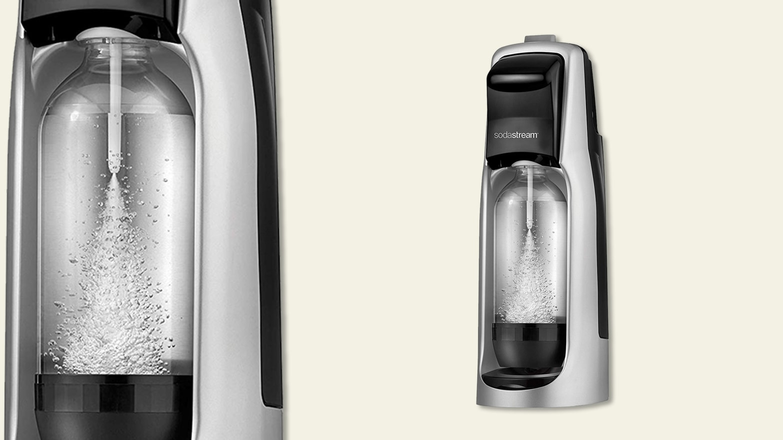 SodaStream Soda Maker Is on Sale Today on Amazon for $59
