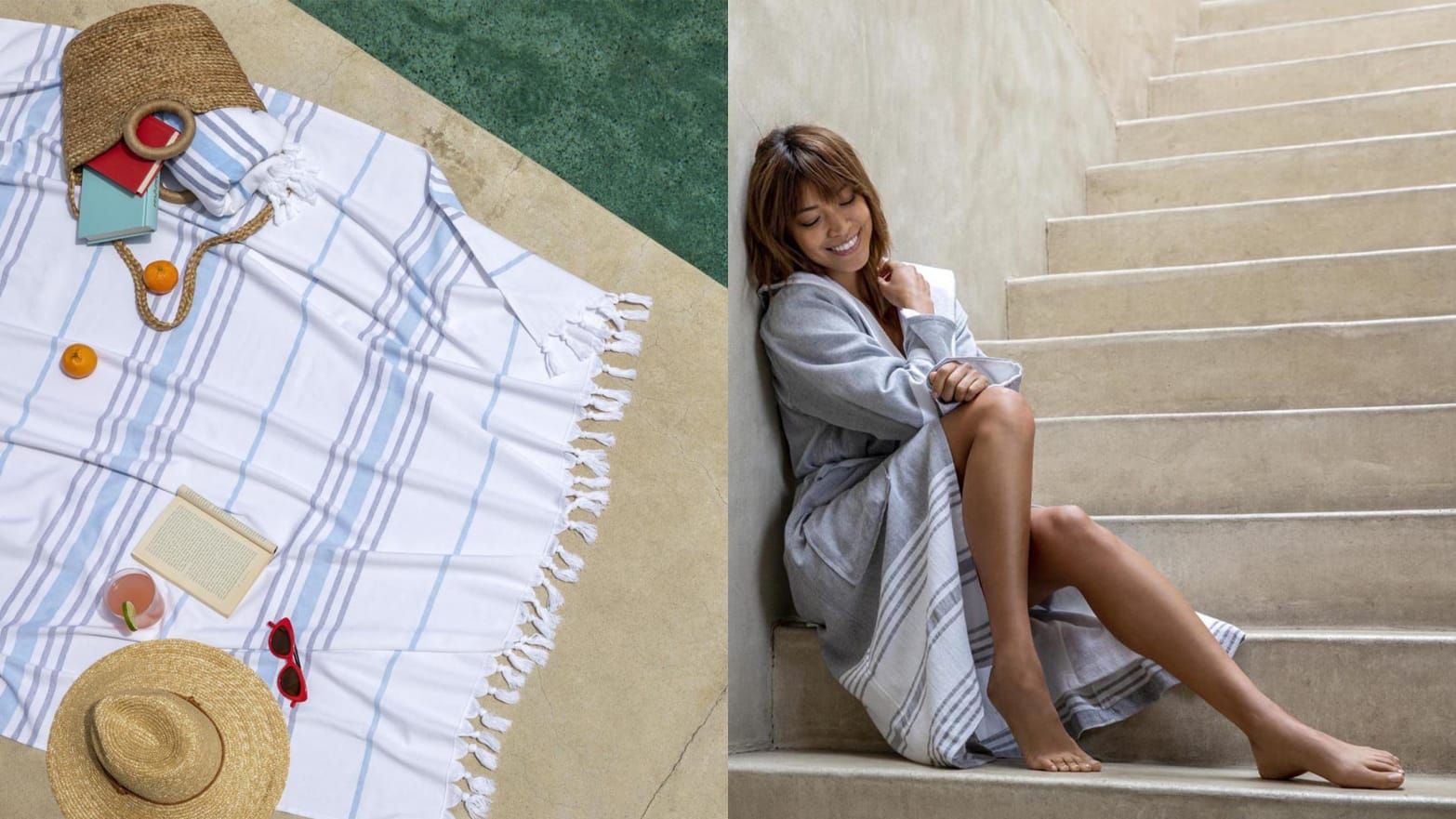 Brooklinen Launched Its First Ever Robe And Turkish-Made Towels