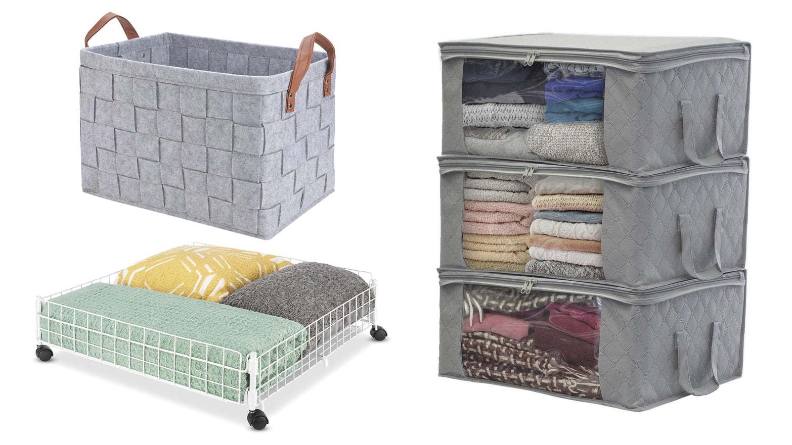 Organize Your Winter Clothes With These Storage Bins from Amazon
